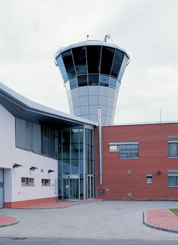 1998 - 2001: TWR Řídící věž a administrativní budova ŘLP / Brno