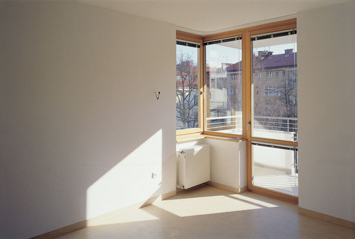 1997 - 2000: Bytový dům s pečovatelskou službou / Praha 6