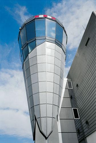 1999 - 2000: TWR Řídící věž a administrativní budova ŘLP / Karlovy Vary